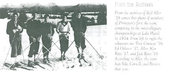 First Princeton Ski Team